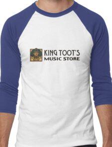 King Toot's Music Store Men's Baseball ¾ T-Shirt