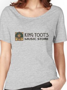 King Toot's Music Store Women's Relaxed Fit T-Shirt