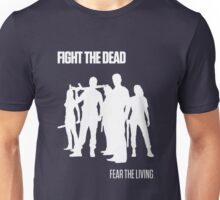 Fight the Dead T-Shirt [White Stencil] Unisex T-Shirt