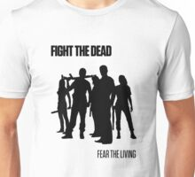Fight the Dead T-Shirt [Black Stencil] Unisex T-Shirt