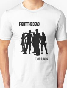 Fight the Dead T-Shirt [Black Stencil] T-Shirt