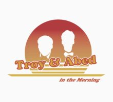 Troy and Abed in the Morning by Type40Design