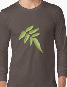 Rubus Rosifolius - Native Australian Raspberry Long Sleeve T-Shirt