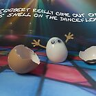 Eggbert really came out of his shell on the dancefloor by Caroline  Peacock