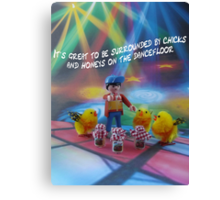 Chicks and honeys on the dancefloor Canvas Print