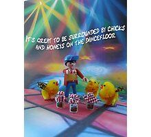 Chicks and honeys on the dancefloor Photographic Print