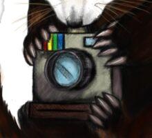 Red Panda With Camera Sticker