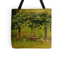 Grape Arbor Tote Bag