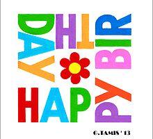 WE WISH YOU HAPPY BIRTHDAY by RainbowArt