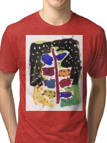 Christmas tree for all Tri-blend T-Shirt