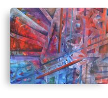 Suspension, Resolution Metal Print