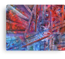Suspension, Resolution Canvas Print