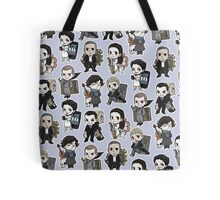 Sherlock Chibis All Over (Cool) Tote Bag
