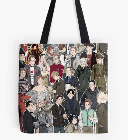 Benedicts All Over Tote Bag