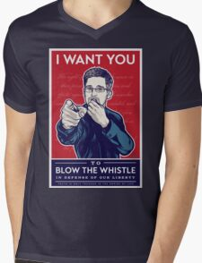 Edward Snowden I Want You T-Shirt