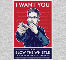 Edward Snowden I Want You Unisex T-Shirt