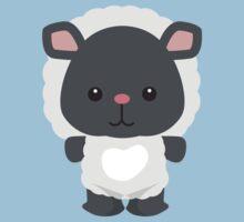 Little Farm Animal Sheep Kids Tee