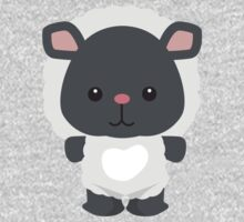 Little Farm Animal Sheep One Piece - Short Sleeve