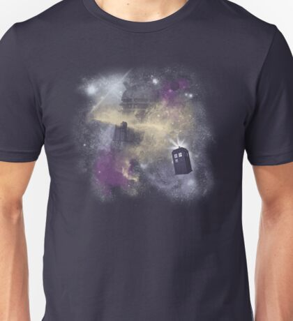 Trough Time and Space Unisex T-Shirt
