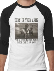 Turn In Your Arms Men's Baseball ¾ T-Shirt