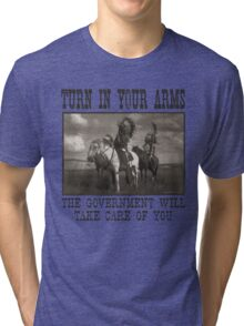 Turn In Your Arms Tri-blend T-Shirt