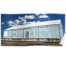 Wharf on Clouds Poster