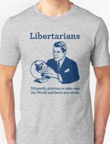 The Libertarian Plot T-Shirt