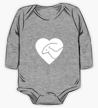 Dinosaur heart: Parasaurolophus Kids Clothes