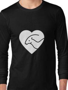 Dinosaur heart: Parasaurolophus T-Shirt