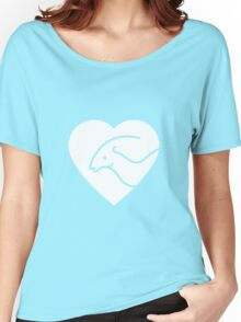 Dinosaur heart: Parasaurolophus Women's Relaxed Fit T-Shirt