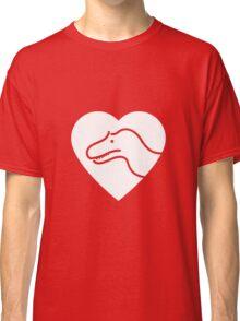 Dinosaur heart: Torvosaurus Classic T-Shirt