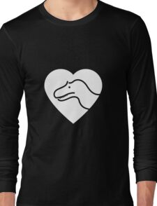Dinosaur heart: Torvosaurus Long Sleeve T-Shirt