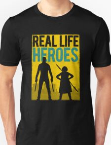 Real Life Heroes (V.1) Unisex T-Shirt