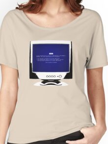 Blue Screen Of Death Women's Relaxed Fit T-Shirt
