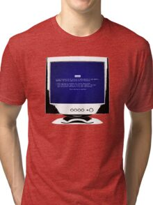 Blue Screen Of Death Tri-blend T-Shirt