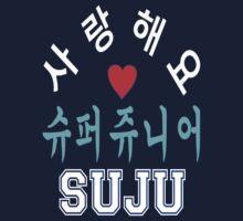 ㋡♥♫SaRangHaeYo(I Love You) K-Pop Boy Band-Super Junior Clothing & Stickers♪♥㋡ Kids Clothes