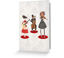 Musical lovers Greeting Card