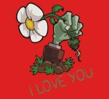 Plants vs Zombies -  I Love You Baby Tee