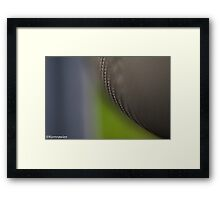 Deep to the space... Framed Print