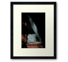 Plastic Poetry .... in a video ...  Framed Print