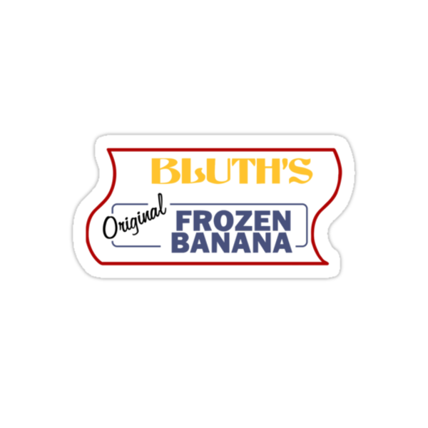 Bluth's Frozen Banana Logo upper by reens55