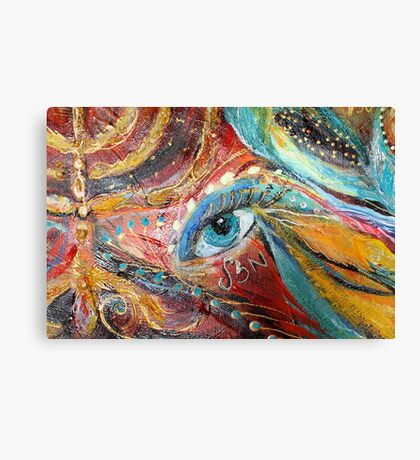 Original painting fragment 04 Canvas Print