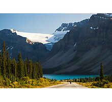 Riding the Icefields Parkway Photographic Print