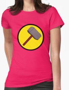 Captain Mjolnir Womens Fitted T-Shirt