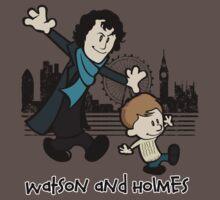 Watson and Holmes  Baby Tee