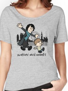Watson and Holmes  Women's Relaxed Fit T-Shirt