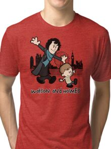 Watson and Holmes  Tri-blend T-Shirt