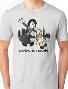 Watson and Holmes  Unisex T-Shirt