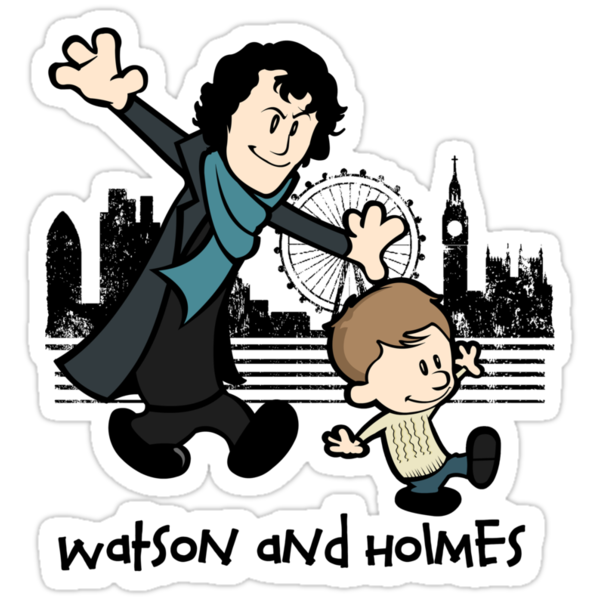 Watson and Holmes  by Tom Trager
