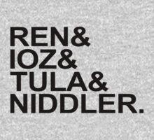 Ren & Ioz & Tula & Niddler by Brittany Cofer